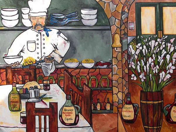 Painting - Chef On Line by Patti Schermerhorn