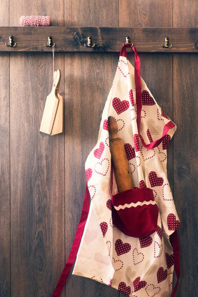 Kitchen Utensil Photograph - Chefs Apron by Amanda Elwell
