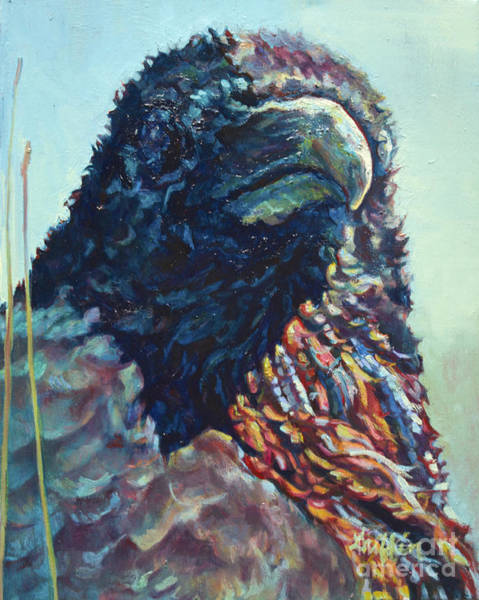 Painting - Chief by Patricia A Griffin