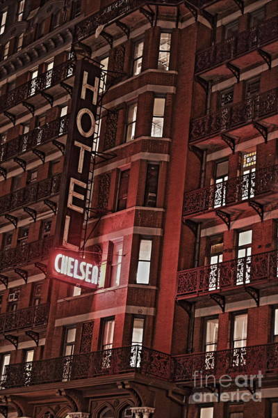 Hotel Photograph - Chelsea Hotel by David Rucker