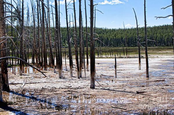 Photograph - Chemical Lake In Yellowstone by Brenda Kean