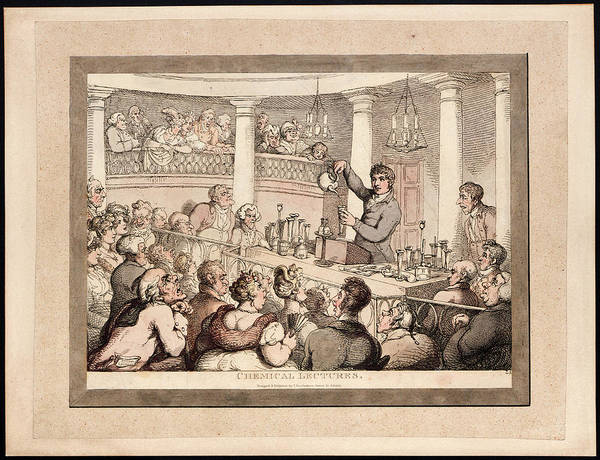 Demonstration Photograph - Chemical Lectures by Museum Of The History Of Science/oxford University Images