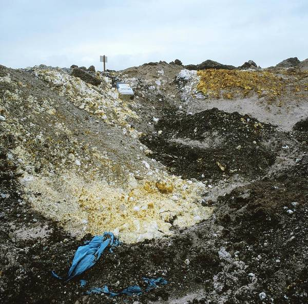 Wall Art - Photograph - Chemical Waste Landfill Site by Robert Brook/science Photo Library