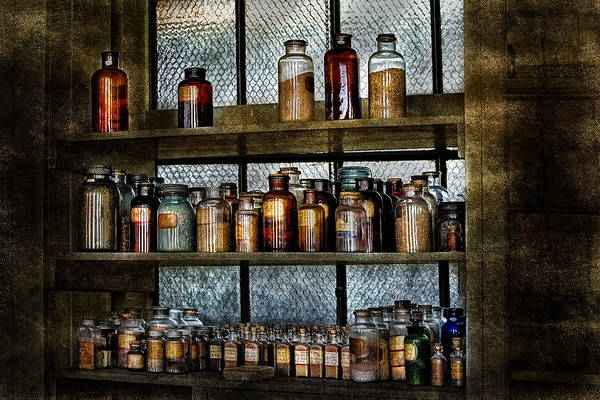Photograph - Chemicals And Pharmaceuticals by Susan Candelario