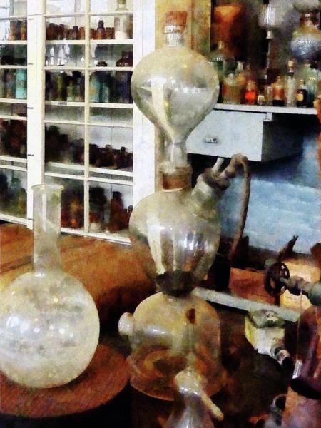 Photograph - Chemist - Kipp's Apparatus by Susan Savad