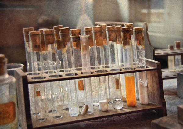 Photograph - Chemist - Specimen by Mike Savad
