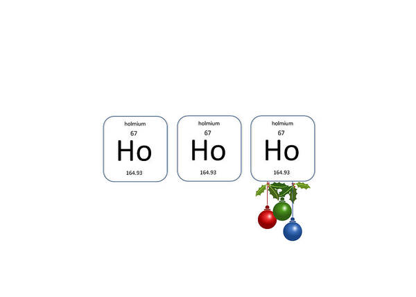 Photograph - Chemistry - Ho Ho Ho Holly by Richard Reeve