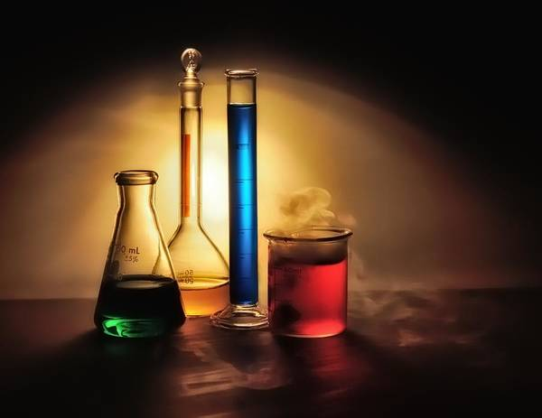 Photograph - Chemistry by Mark Fuller