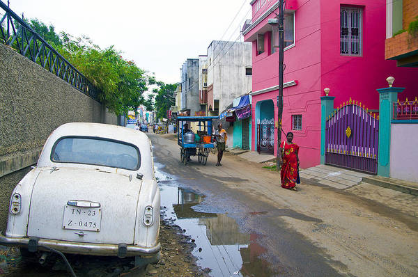 Photograph - Chennai's Colourful Streets by Ross G Strachan