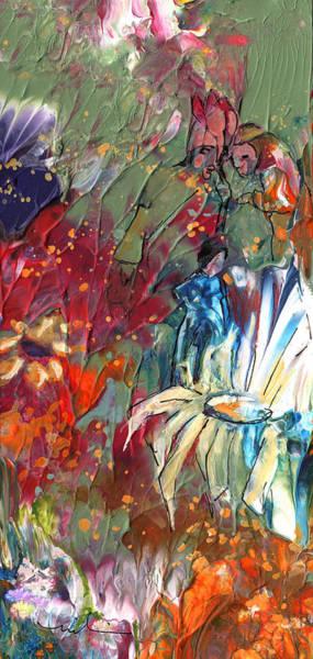 Painting - Cherchez La Femme by Miki De Goodaboom