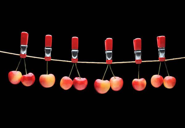 Wall Art - Photograph - Cherries by Krasimir Tolev