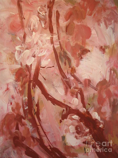 Wall Art - Painting - Cherry Blossom by Fereshteh Stoecklein