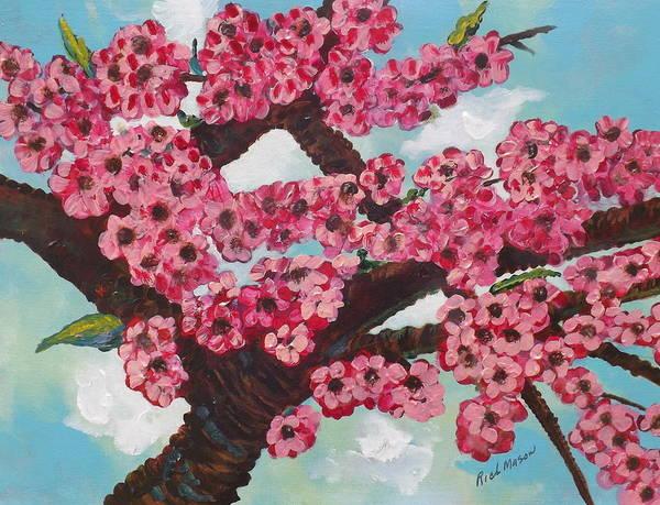 Wall Art - Painting - Cherry Blossom by Rich Mason