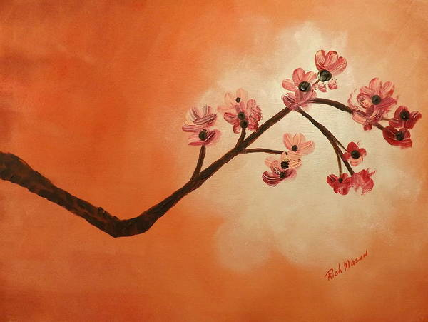 Wall Art - Painting - Cherry Blossoms by Rich Mason
