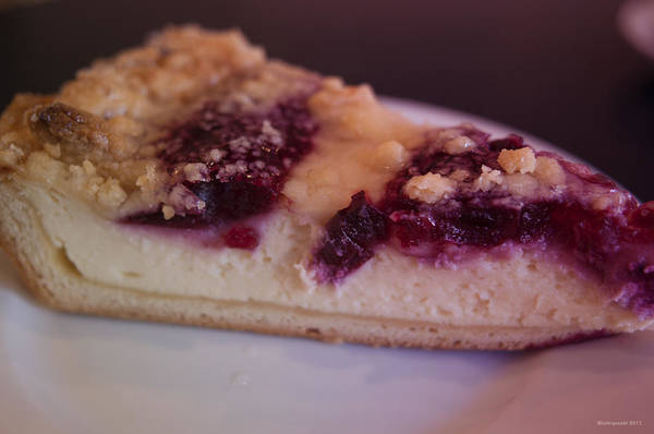 Photograph - Cherry Cheesecake by Miguel Winterpacht