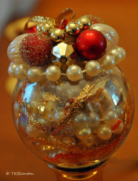 Photograph - Cherry Delight Ornament by Teresa Blanton