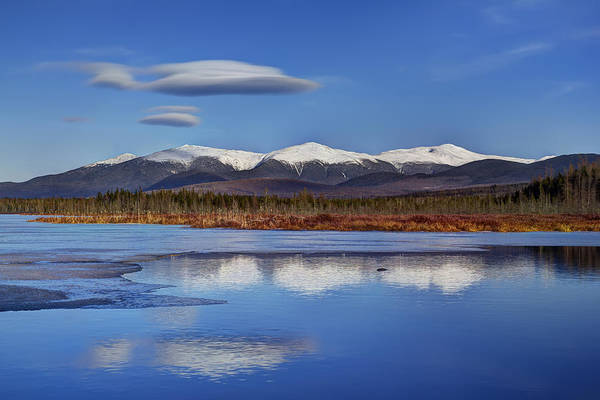Nh Photograph - Cherry Pond Lenticulars by Chris Whiton