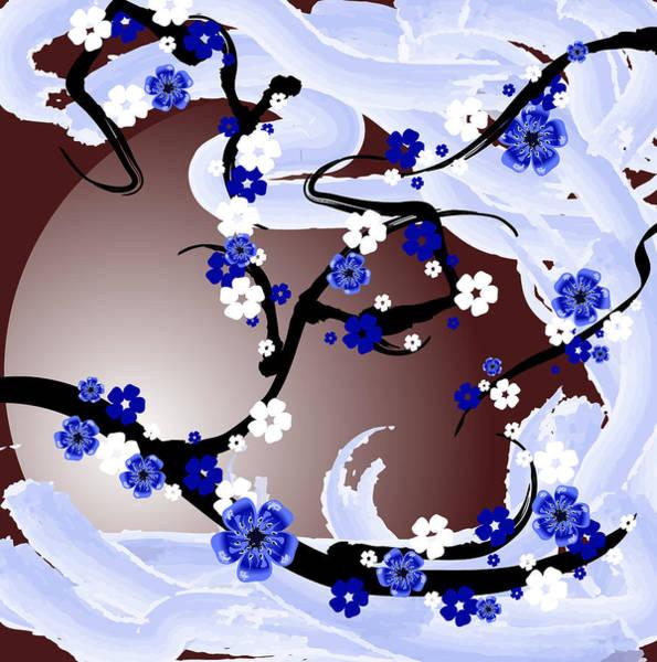 Wall Art - Digital Art - Cherry Tree_wisperwind by Mellisa Ward