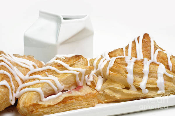Photograph - Cherry Turnovers - Baker - Sweets Shoppe - And Milk by Andee Design