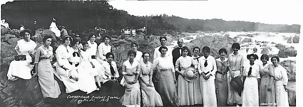 Outing Photograph - Cherrydale Sunday School Picnic by Fred Schutz Collection