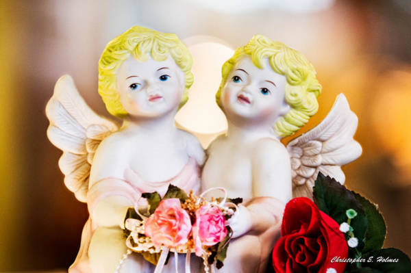 Photograph - Cherubs by Christopher Holmes
