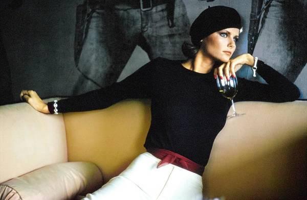 Wall Art - Photograph - Cheryl Tiegs Wearing Ralph Lauren by Arthur Elgort