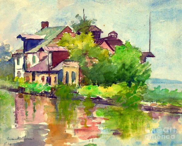 Chesapeake And Ohio Wall Art - Photograph - Chesapeake And Ohio Canal 1916 by Padre Art