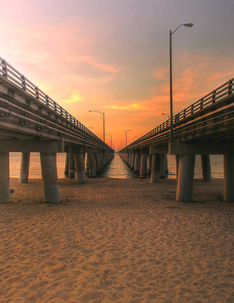Photograph - Chesapeake Bay Bridge IIi  by Pete Federico