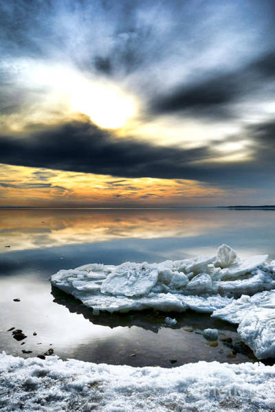 Photograph - Chesapeake Bay Winter by Olivier Le Queinec