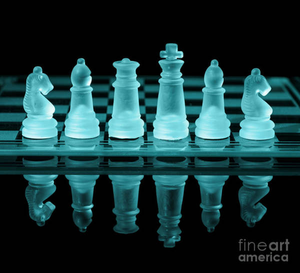 Rook Photograph - Chess Board by Amanda Elwell