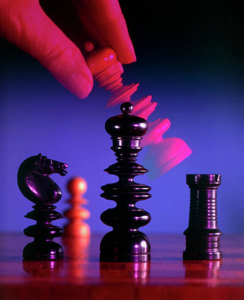 Rook Photograph - Chess Game by Sheila Terry/science Photo Library