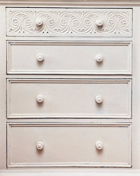 Cabinet Photograph - Chest Of Drawers by Tom Gowanlock