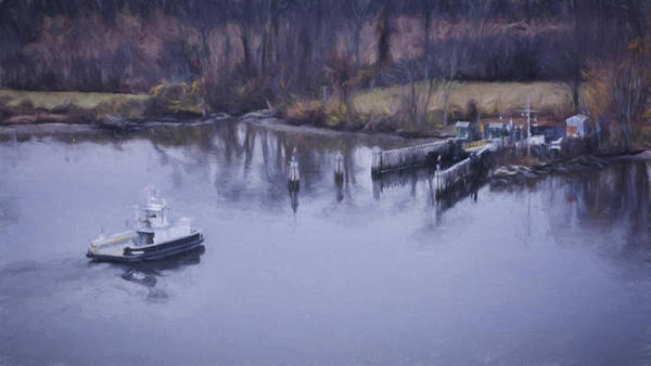 Photograph - Chester Hadlyme Ferry by Joan Carroll