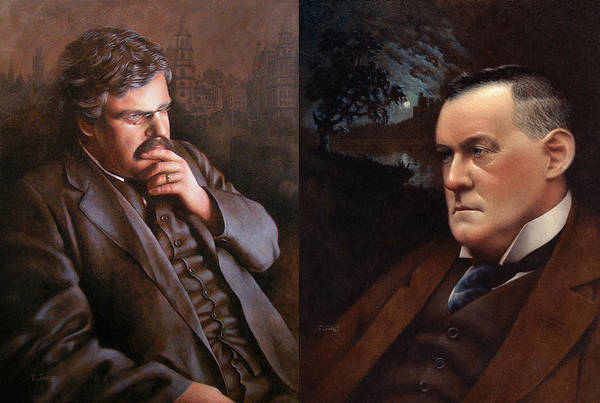 Wall Art - Painting - Chesterbelloc by Timothy Jones