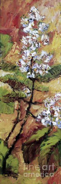 Painting - Chestnut Blossoms  by Ginette Callaway