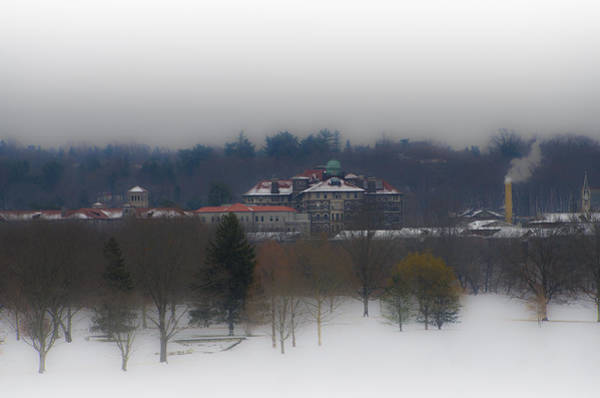 Chestnut Hill Photograph - Chestnut Hill College From Whitemarsh Valley by Bill Cannon