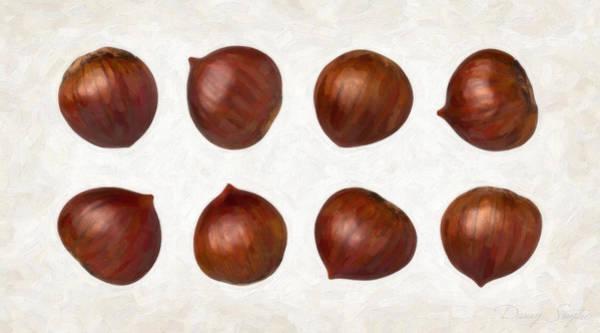 Husk Painting - Chestnuts by Danny Smythe