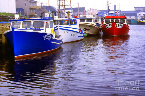 Photograph - Cheticamp Dock by Thomas R Fletcher