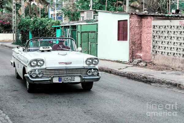 Photograph - Chevrolet 58 Taxi by Les Palenik