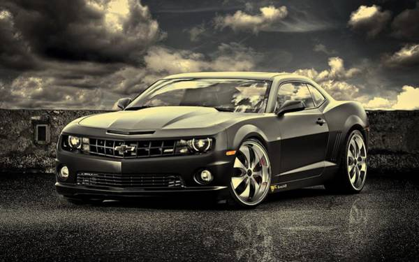 Photograph - Chevrolet Camaro Ss by Movie Poster Prints