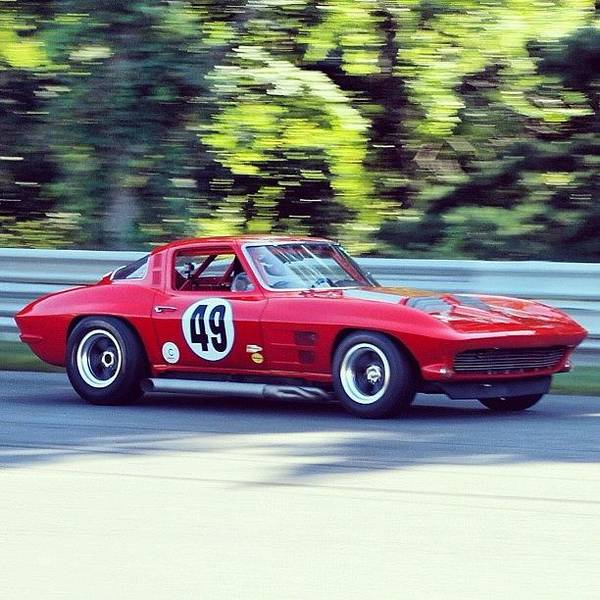 Chevrolet Corvette Photograph - #chevrolet #chevy #corvette #stingray by Motorsports The Real