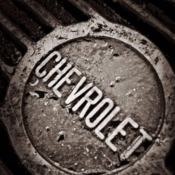 Chevrolet Corvette Photograph - #chevrolet #chevy #musclecar by Harrison Miller