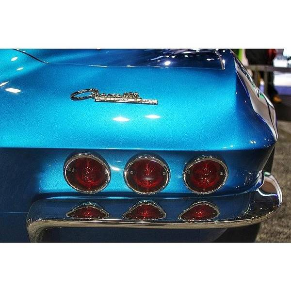 Chevrolet Corvette Photograph - #chevrolet #corvette #chicagoautoshow by James Roach