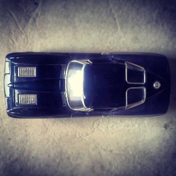 Chevrolet Corvette Photograph - #chevrolet #corvette #matchbox by Koritar Henriett