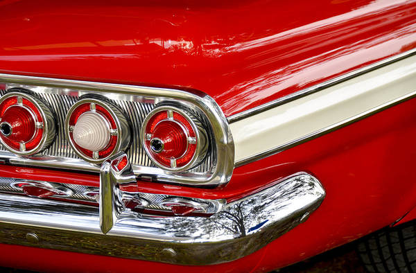 Photograph - Chevrolet Impala Classic Rear View by Carolyn Marshall
