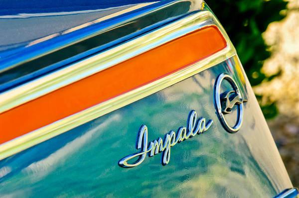 Impala Photograph - Chevrolet Impala Emblem 10 by Jill Reger