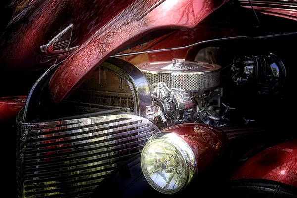 Vehicles Photograph - Chevrolet Master Deluxe 1939 by Tom Mc Nemar
