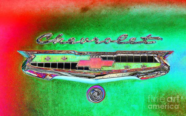 Photograph - Chevrolet Rainbow by Les Palenik