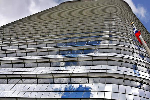Photograph - Chevron Corporation Houston Tx by Christine Till