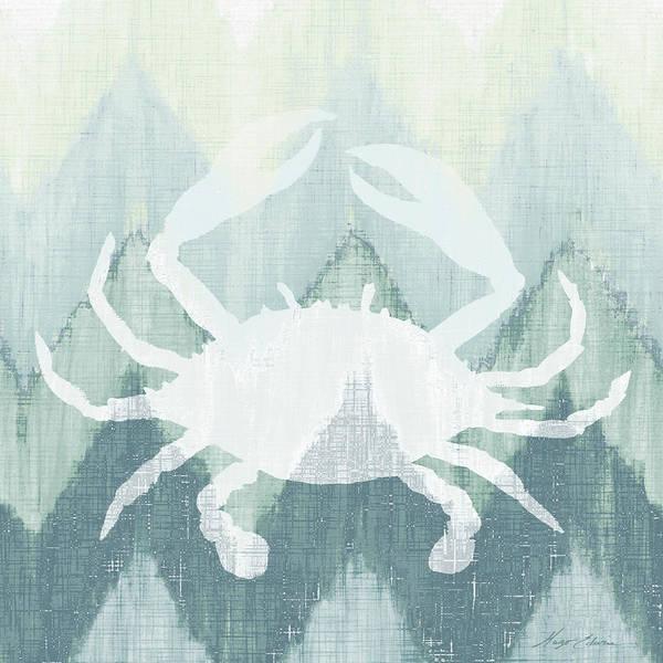 Creature Digital Art - Chevron Sea Creature IIi by Hugo Edwins